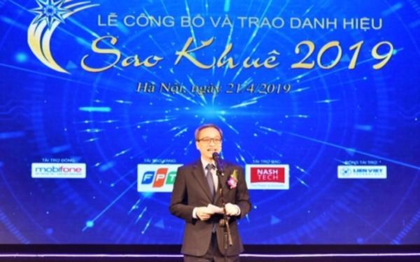 Thứ trưởng Bộ TT&TT Phan Tâm phát biểu tại Lễ
