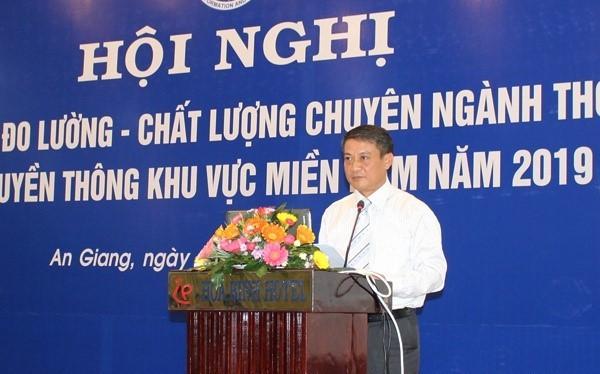 Thứ trưởng Phạm Hồng Hải phát biểu khai mạc Hội nghị.