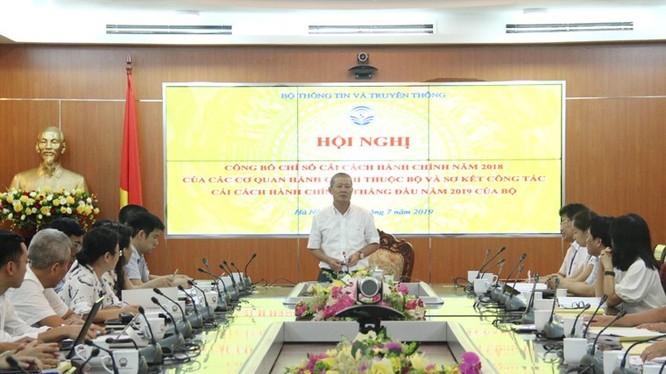 Thứ trưởng Bộ TT&TT Nguyễn Thành Hưng phát biểu tại Hội nghị