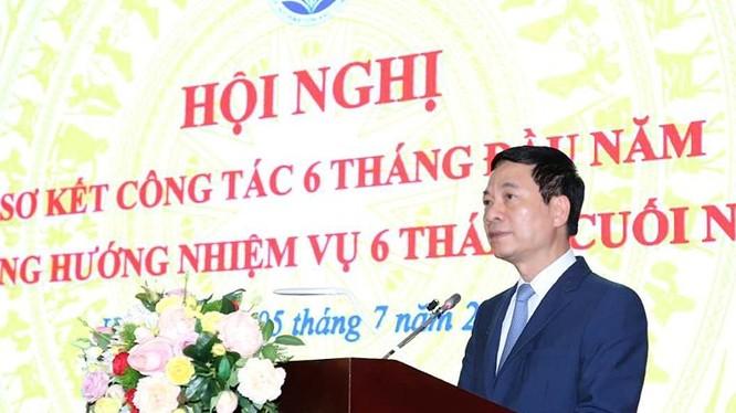 Bộ trưởng Bộ TT&TT Nguyễn Mạnh Hùng phát biểu chỉ đạo tại Hội nghị,