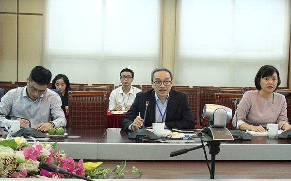 Thứ trưởng Bộ TT&TT Phan Tâm phát biểu tại buổi Tọa đàm
