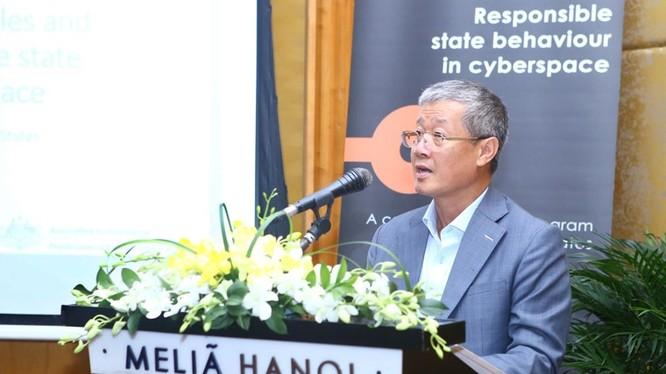 Thứ trưởng Nguyễn Thành Hưng phát biểu tại Hội thảo
