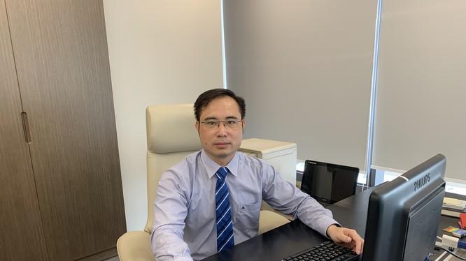 Ông Nguyễn Hữu Hạnh, Phó Cục trưởng Cục Tin hoc hóa