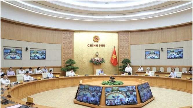 Hình ảnh Hội nghị trực tuyến toàn quốc công bố chỉ số CCHC năm 2019