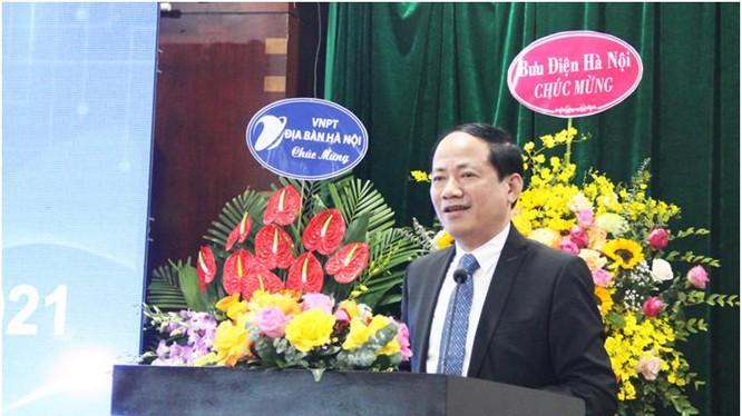 Thứ trưởng Phạm Anh Tuấn phát biểu tại Hội nghị. Anh Mic