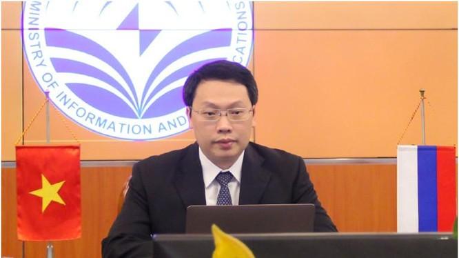 Thứ trưởng Nguyễn Huy Dũng phát biểu tại Diễn đàn. Ảnh Mic.