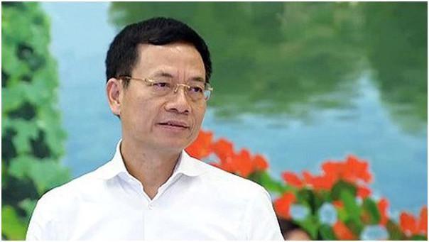 Bộ trưởng Bộ TT&TT Nguyễn Mạnh Hùng (ảnh: MIC)