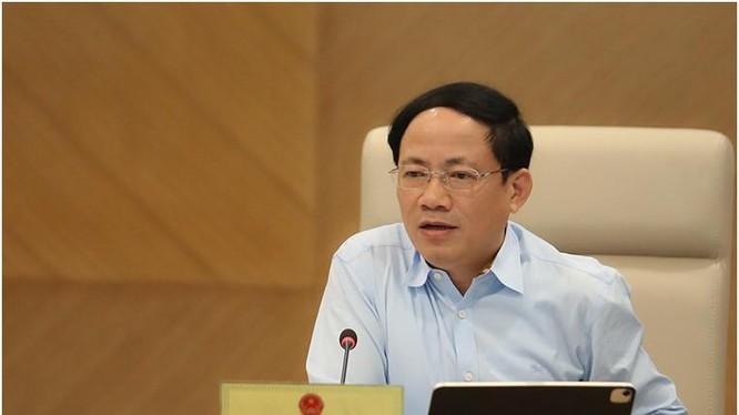 Thứ trưởng Phạm Anh Tuấn phát biểu tại Hội nghị. Ảnh Mic