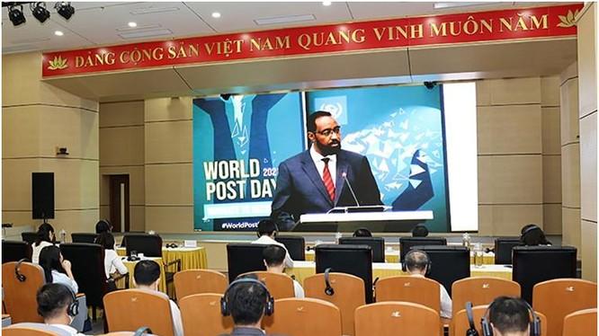 Lễ kỷ niệm Ngày Bưu chính thế giới được truyền hình trực tiếp.