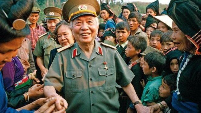 Đại tướng Võ Nguyên Giáp- vị tướng huyền thoại- đại tướng của nhân dân