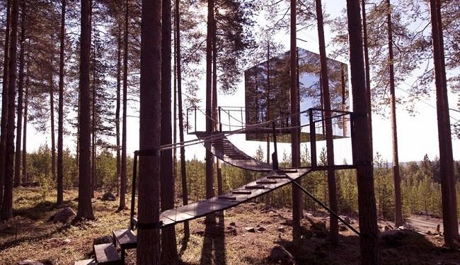 Mẫu nhà trên cây độc đáo (Ảnh: Business Insider)