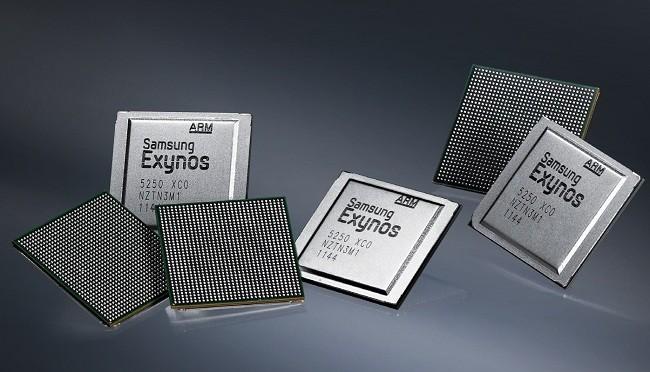 Chip xử lý Exynos của Samsung (Ảnh: ibtime.com)