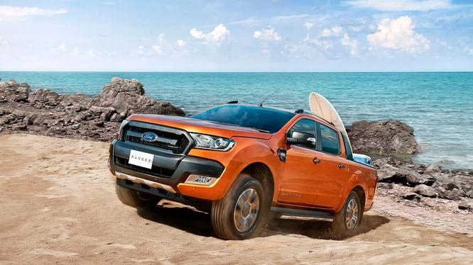 Ford Ranger năm thứ 3 liên tiếp là mẫu xe bán tải bán chạy nhất tại thị trường Việt Nam (Ảnh: Ford Việt Nam)