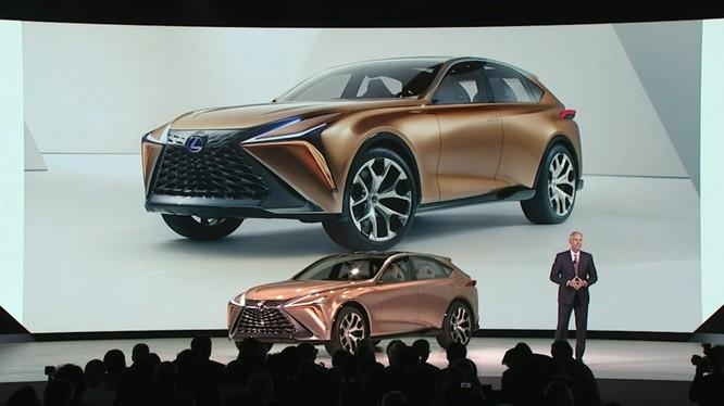 Lexus LF-1 Limitless Concept vừa được ra mắt tại triển lãm Detroit 2018 (Ảnh: Lexus)