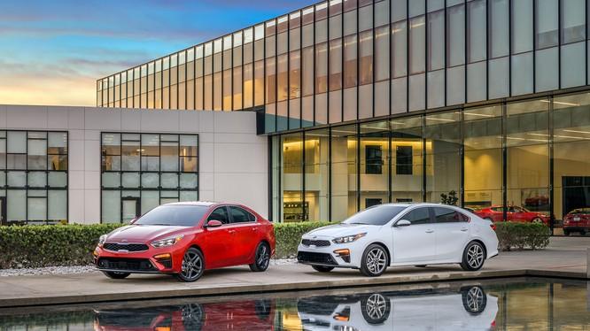 Forte 2019 sẽ có mặt tại các đại lý Kia Bắc Mỹ vào cuối năm nay (Ảnh: Kia)