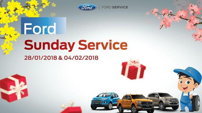 Ford Việt Nam ra mắt chương trình Ngày Chủ nhật Dịch vụ