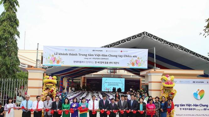 Bên cạnh phát triển lĩnh vực ô tô, Hyundai cũng rất chú trọng đến các hoạt động xã hội tại Việt Nam