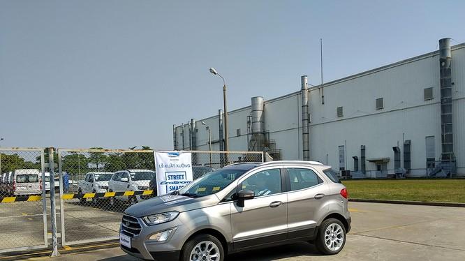 Ford EcoSport 2018 có nhiều điểm mới ở phần đầu xe và trang bị tiện ích bên trong