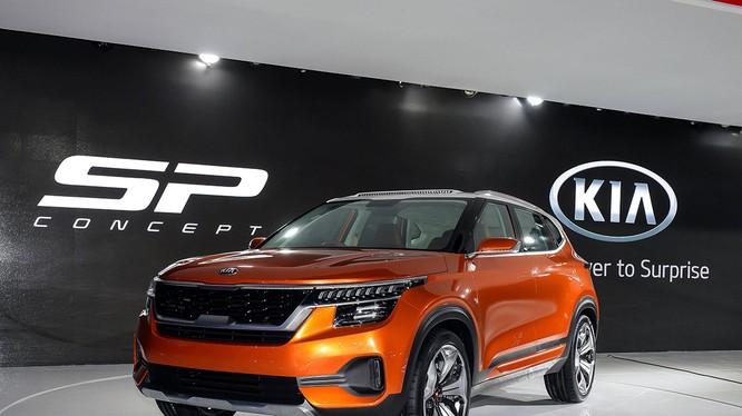 Kia SP Concept sẽ sớm được đưa vào sản xuất trong năm tới (Ảnh: Kia)