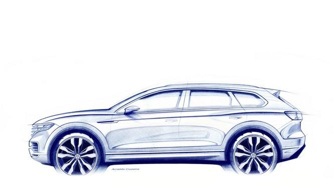 Hệ thống chuyển hướng bánh sau là một trong những tính năng nổi bật trên VW Touareg 2019 (Ảnh: VW AG)