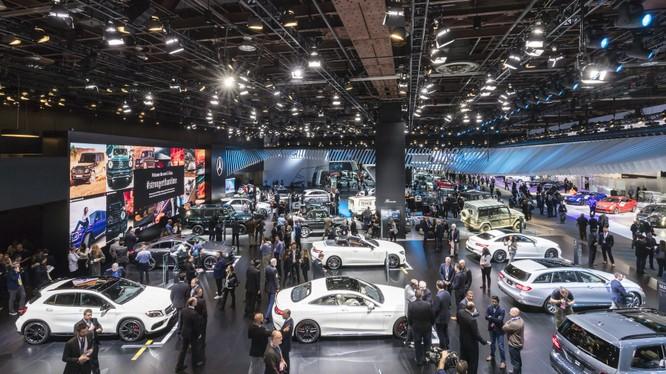 Mercedes-Benz có thể tính đến những phương án khác đem lại hiệu quả cao hơn thay vì trưng bày tại triển lãm