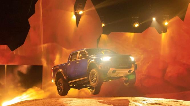 Ford Ranger Raptor bán tại Mỹ sẽ sử dụng động cơ xăng thay vì động cơ Diesel hiện có