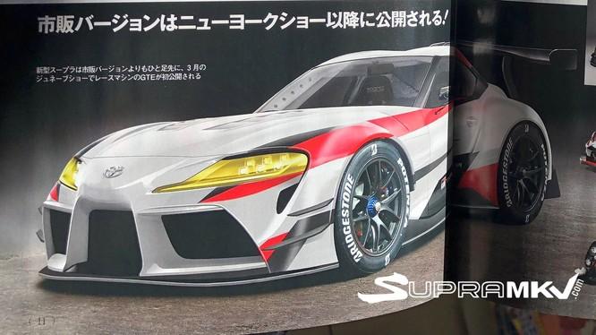 Toyota Supra gần như giữ nguyên hình ảnh của FT-1 concept