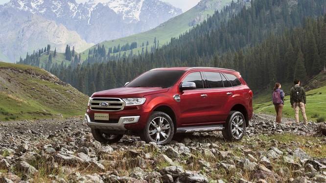 Theo chân Ranger, Ford Everest có khả năng sẽ một phiên bản hiệu suất cao Raptor (Ảnh:Ford)