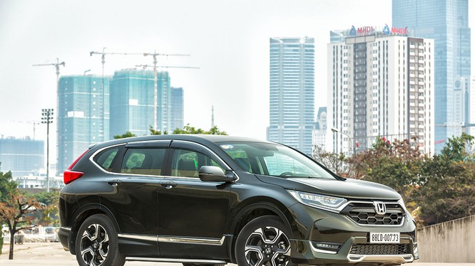 Giá bán Honda CR-V đã thấp hơn gần 200 triệu so với giá công bố hồi tháng 1/2018