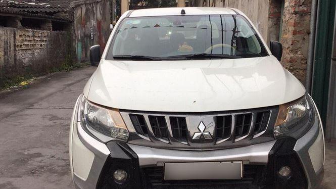 Sau nhiều tháng đấu tranh, khách hàng đã được đổi chiếc xe Mitsubishi Triton mới (Ảnh: NVCC)