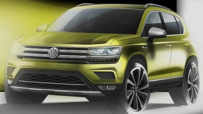 Một chiếc Crossover mới có ngoại hình tương tự như VW T-ROC sẽ được tung ra thị trường Trung Quốc và Bắc Mỹ. (Ảnh:Volkswagen)