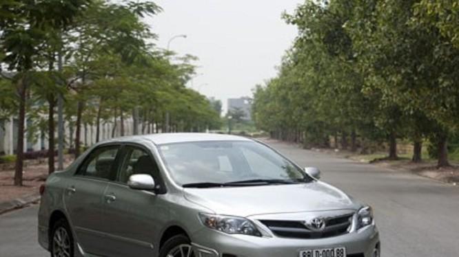 Gần 17.000 xe Corolla bị triệu hồi trong lần thông báo thứ 2 của Toyota Việt Nam (Ảnh minh họa)