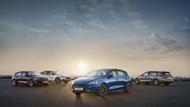 Các phiên bản của Ford Focus 2019 dành cho thị trường châu Âu