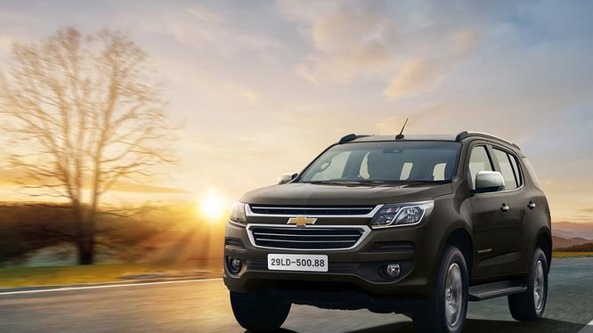 Chevrolet Trailblazer sẽ được ra mắt tại thị trường Việt Nam vào tháng 5/2018
