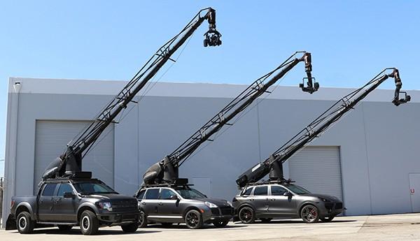 Các xe quay phim đang ngày càng trở nên quan trọng, đặc biệt là những pha hành động rượt đuổi có độ khó cao