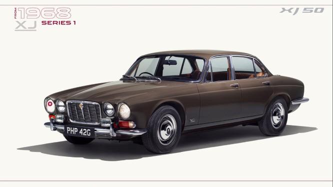 Sau 50 năm, Jaguar XJ đến nay đã trải qua 8 thế hệ với nhiều phiên bản khác nhau
