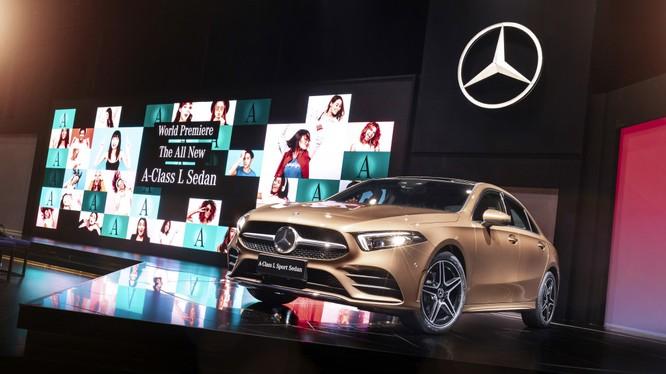 A-Class L Sedan được sản xuất độc quyền bởi liên doanh Daimler - BAIC Motor