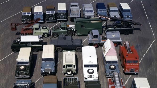 Năm 2018 đánh dấu cột mốc 70 năm hình thành và phát triển của thương hiệu xe địa hình Anh Quốc - Land Rover