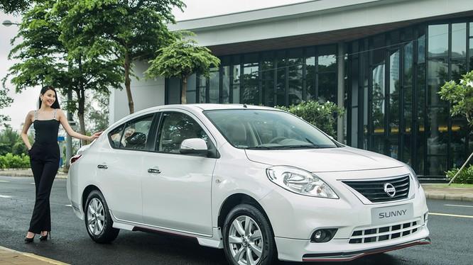 Tháng 5/2018, Sunny là mẫu xe duy nhất của Nissan Việt Nam có sự tăng giá bán