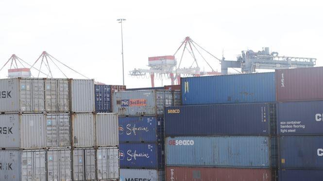Lô 118 container chứa xe BMW được xác định do BMW Euro Auto nhập về. Ảnh: Hân Nguyễn.