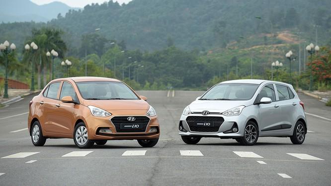 Vượt qua Toyota Vios, Hyundai Grand i10 trở thành mẫu xe bán chạy nhất thị trường Việt trong tháng 6/2018.