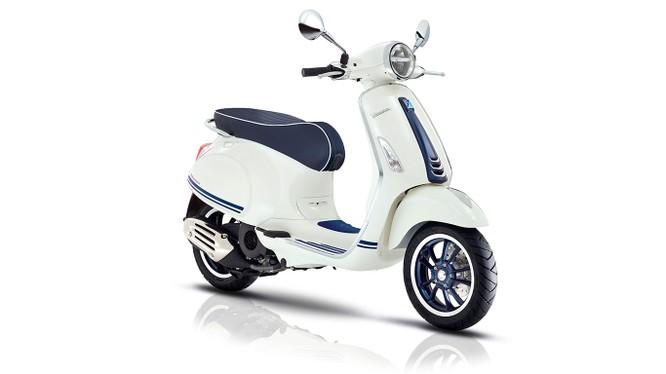 Vespa Primavera không chỉ là một mẫu xe huyền thoại mà còn là một trong những mẫu xe tạo nên thành công rộng khắp trong lịch sử Vespa. (Ảnh: Piaggio Việt Nam)