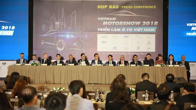 Triển lãm Ô tô Việt Nam 2018 (Vietnam Motor Show 2018) sẽ chính thức diễn ra từ ngày 24/10/2018 đến hết ngày 28/10/2018.