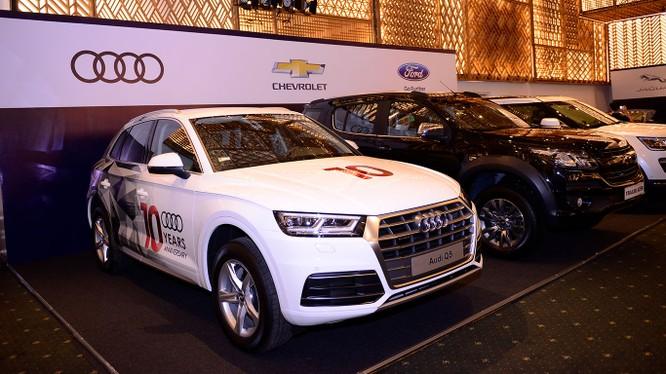 """Audi sẽ trưng bày 10 mẫu xe trên diện tích 545 m2 trong không gian """"Audi, ngôi nhà quattro""""."""