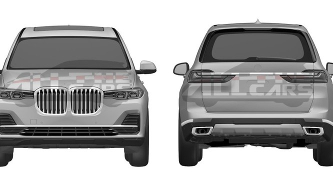 BMW X7 vẫn sẽ được ra mắt tại triển lãm Los Angeles 2018 vào tháng 11 dù được công bố trực tuyến trước đó 1 tháng.