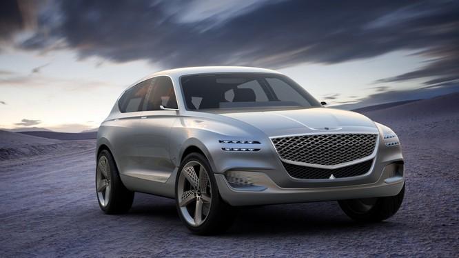 Chiếc Crossover đầu tiên của thương hiệu Genesis sẽ có mặt trên thị trường sớm nhất vào năm 2020. (Ảnh: Genesis)