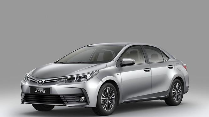 Toyota Corolla Altis 2018 bắt đầu được bán ra thị trường từ 4/10/2018.