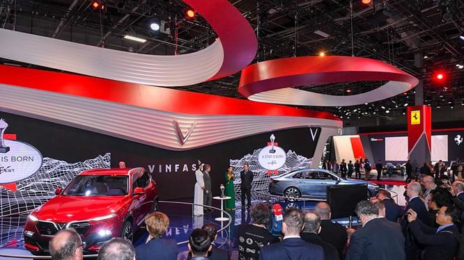 Mặc dù chưa phải là sản phẩm chính thức nhưng VinFast đã gây được ấn tượng tại triển lãm Paris Motorshow 2018.