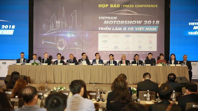 Vietnam Motor Show 2018 sẽ là kỳ triển lãm có quy mô lớn nhất từ trước tới nay.