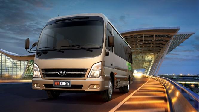 Hyundai New County có giá bán lẻ khuyến nghị 1,395 tỷ đồng (đã bao gồm thuế VAT)